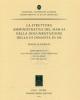 la struttura amministrativa del mar sa nella documentazione della iii dinastia di ur