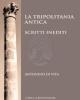 la tripolitania antica scritti inediti    antonino di vita