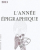 lann epigraphique 2013    issn  0066 2348