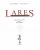 lares rivista di studi demo etno antropologici quadrimestrale diretto da pietro clemente    anno 2014