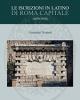 le iscrizioni in latino di roma capitale 1870 2018