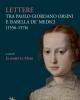 lettere tra paolo giordano orsini e isabella de medici 1556 1576