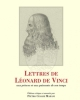 lettres de lonard de vinci aux princes et aux puissants de son temps   p c marani