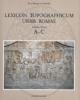 lexicon topographicum urbis romae volume primo a   c