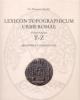 lexicon topographicum urbis romae   volume quinto t   z