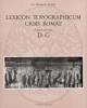 lexicon topographicum urbis romaevolume secondo d   g