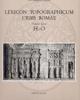 lexicon topographicum urbis romaevolume terzo h   o