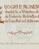 luoghi e monumenti danteschi a viterbo disegnati da umberto richiello descritti da gino rosi nel sesto centenario
