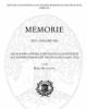 memorie iii serie in 8