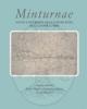 minturnae nuovi contributi alla conoscenza della forma urbis   von hesberg h  bellini g r