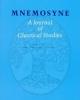 mnemosyne volume 70 issue 3 2017