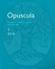 opuscula 3 2010 annual of the swedish institutes at athens and rome