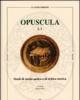 opuscula studi di storia antica e di critica storica   claudio ferone