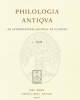 philologia antiqvaan international journal of classics   vol 6 2013