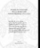 poesia in volgare nella roma dei papati medicei 1513 1534 franco pignatti a cura di