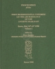 proceedings of the first international congress on the archaeology of the ancient near east
