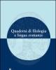 quaderni di filologia e lingue romanze