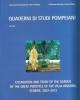 quaderni di studi pompeiani 7 2016    excavation and study of t