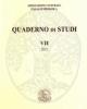 quaderno di studi vii  2012   associazione culturale italia numismatica