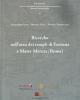ricerche nellarea dei templi di fortuna e mater matuta roma