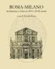 roma milano architettura e citt tra xvi e xvii secolo   antonio russo