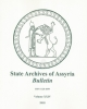 saab bulletin   state archives of assyria bulletin   vol 24 x