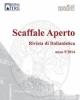 scaffale aperto rivista di italianistica vol 5 2014