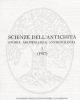 scienze dellantichit storia archeologia antropolgia 1 1987