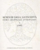 scienze dellantichit storia archeologia antropolgia 2 1988