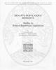 senatus populusque romanus studies in roman republican legislation