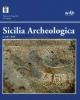 sicilia archeologica volume 108 2016