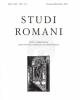 studi romani anno lxin1 4 2013   issn 0039 2995