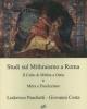 studi sul mithraismo a roma il culto di mitra ad ostia  mitra e diocleziano   lodovico paschetti giovanni costa