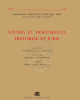 studia et documenta historiae et iuris 2013