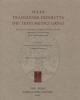 sulla tradizione indiretta dei testi medici greci garofalo