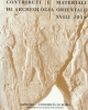 the southern levant in early bronze iv issues and perspectives in the pottery evidence   contributi e materiali di archeologia orientale   cmao vol xvii 2014