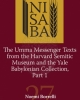 the umma messenger texts from the harvard semitic museum and the yale babylonian collection part 1   noemi borrelli   nisaba 27